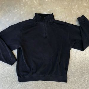 Cutter & Buck 1/4 Zip 100% Pima Pullover Sweater L